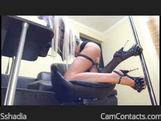 Webcam model Sshadia from CamContacts
