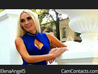 Webcam model ElenaAngel5 from CamContacts