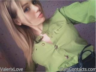 Webcam model ValerixLove from CamContacts