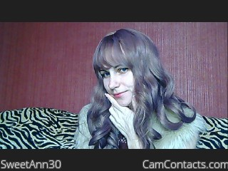 Webcam model SweetAnn30 from CamContacts