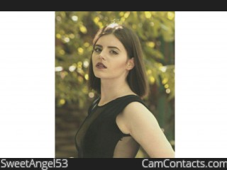 Webcam model SweetAngel53 from CamContacts