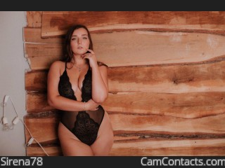 Webcam model Sirena78 from CamContacts