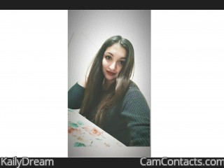Webcam model KailyDream from CamContacts