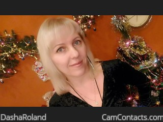 Webcam model DashaRoland from CamContacts
