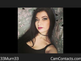 Webcam model 33Murn33 from CamContacts