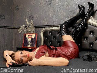 Webcam model EvaDomina from CamContacts