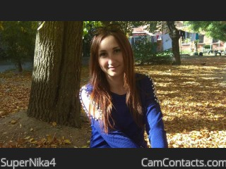 Webcam model SuperNika4 from CamContacts