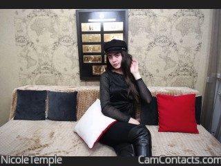 Webcam model NicoleTemple from CamContacts