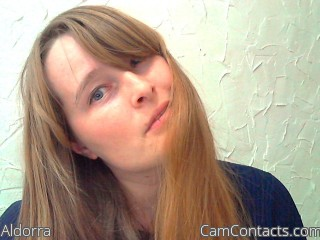 Webcam model Aldorra from CamContacts