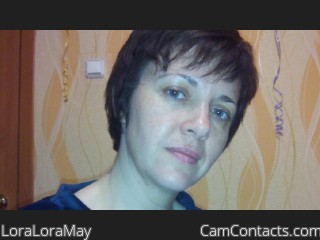 Webcam model LoraLoraMay from CamContacts