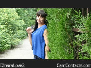 Webcam model DinaraLove2 from CamContacts