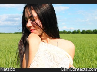 Webcam model Natsbb from CamContacts