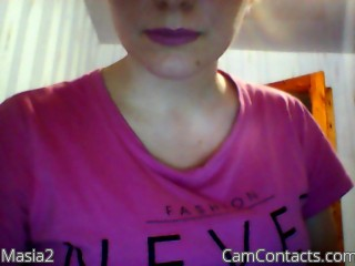 Webcam model Masia2 from CamContacts