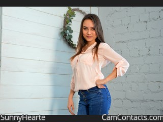 Webcam model SunnyHearte from CamContacts