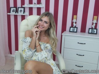 Start VIDEO CHAT with AlexaEmersons