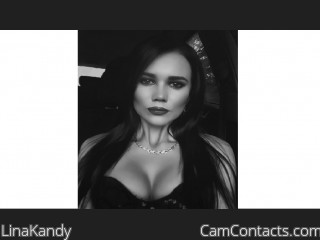 Webcam model LinaKandy from CamContacts