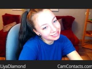 Webcam model LiyaDiamond from CamContacts