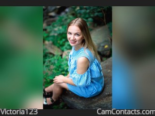Webcam model Victoria123 from CamContacts