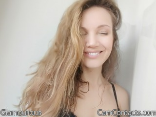 Webcam model Glamourous from CamContacts
