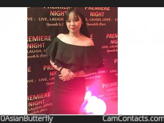 Webcam model 0AsianButterfly from CamContacts