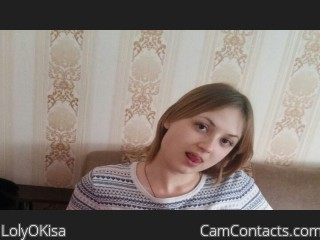 Webcam model LolyOKisa from CamContacts
