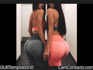 Webcam model 0URTemptation0 from CamContacts