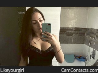 Webcam model Likeyourgirl from CamContacts