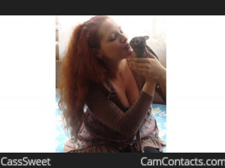 Webcam model CassSweet from CamContacts