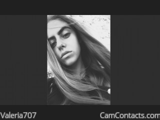 Webcam model Valeria707 from CamContacts