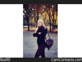 Webcam model lisa90 from CamContacts