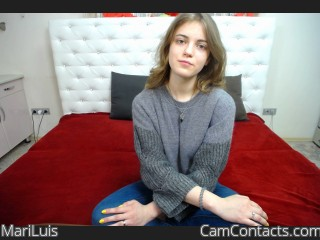 Webcam model MariLuis from CamContacts