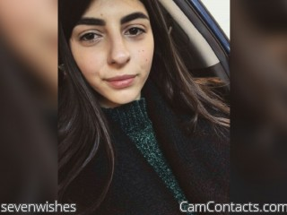 Webcam model sevenwishes from CamContacts
