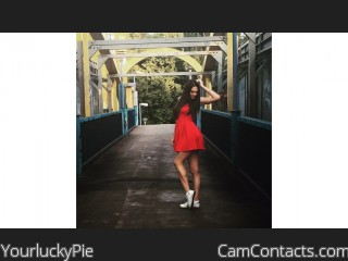 Webcam model YourluckyPie from CamContacts