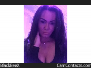 Webcam model BlackBeeX from CamContacts