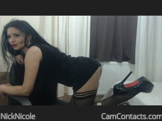 Webcam model NickNicole from CamContacts