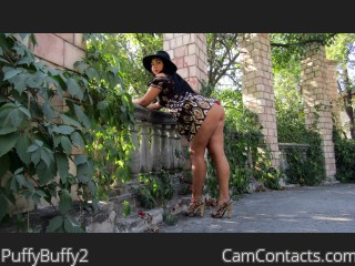 Webcam model PuffyBuffy2 from CamContacts
