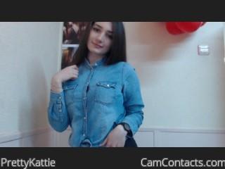 Webcam model PrettyKattie from CamContacts