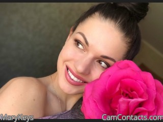 Webcam model MaryKeys from CamContacts