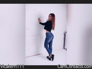 Webcam model Vicakern111 from CamContacts