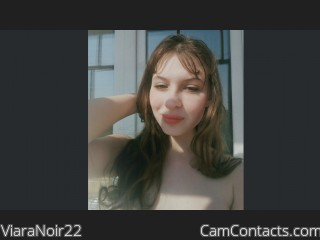 Webcam model ViaraNoir22 from CamContacts
