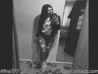 Webcam model Afina777 from CamContacts