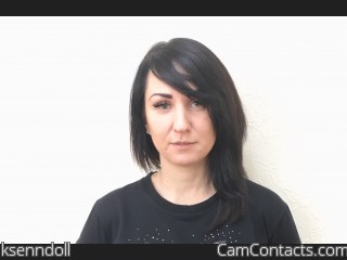 Webcam model ksenndoll from CamContacts