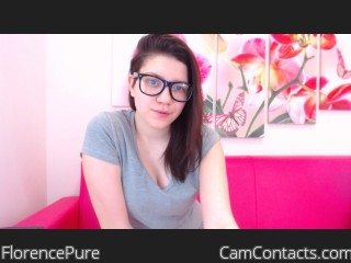 Start VIDEO CHAT with FlorencePure