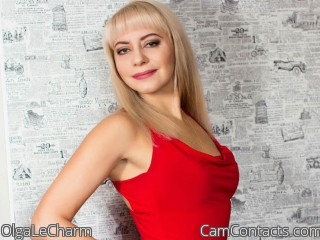 Webcam model OlgaLeCharm from CamContacts