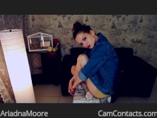 Start VIDEO CHAT with AriadnaMoore