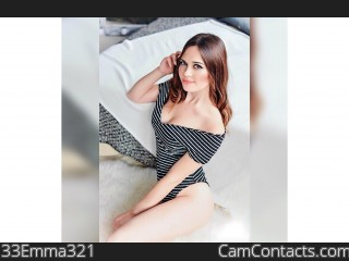 Start VIDEO CHAT with 33Emma321