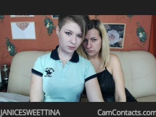 Webcam model JANICESWEETTINA from CamContacts
