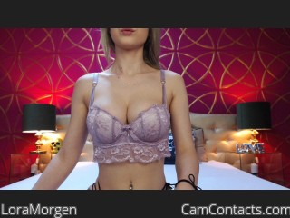 Webcam model LoraMorgen from CamContacts