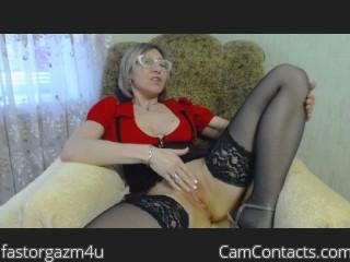 Webcam model fastorgazm4u from CamContacts