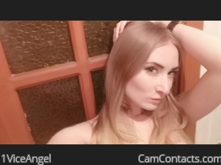 Webcam model 1ViceAngel from CamContacts